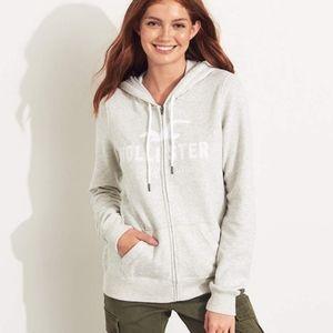 Womens Hollister Icon Hoodie Sweatshirt small